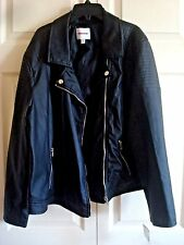 Ladies Black Jacket Bongo Size 2 X Large New
