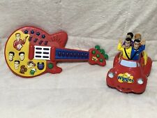 The Wiggles Play Along Guitar Big Red Car Musical Lot