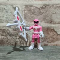 Imaginext Mighty Morphin Power Rangers Pink 100% COMPLETE - Free UK P&P