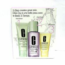 Clinique 3-Step Set Dry Combination Skin Type 2
