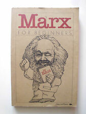Marx for beginners by Rius - 1976 - Karikatur Buch über Marx