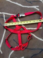 Top Paw Signature  DS 16 L TP Red adjustable Harness