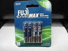 Fuji EnviroMAX AAA Super Heavy Duty Alkaline Battery (4)