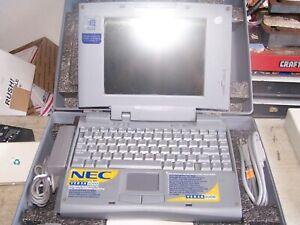 NEC Versa Vintage 2000 Color Laptop Intel PC-6110-41301 Windows 95 - Estate Sale