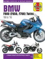 HAYNES REPAIR SERVICE MANUAL BOOK BMW F800 800 F800S (F650, F700) TWIN 2006-2016