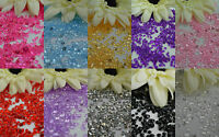 6.5mm WEDDING TABLE SCATTER CRYSTALS DIAMOND CONFETTI FAVOUR DECORATION