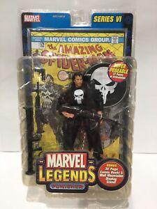 2004 Toy Biz Marvel Legends 6'' Punisher Series 6 NIP