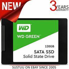 """WD SSD Solid State Drive 120GB 2.5"""" 7mm Internal SATA III - WDS120G2G0A - Green"""