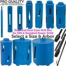 *Select a Size* Diamond Core Drill Bit –Hole Cutter –Brick Wall / Concrete Block