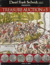 Daniel Frank Sedwick Treasure Auction 5, April 2009, shipwreck treasure coins