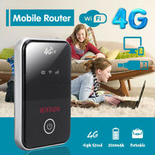 150Mbps Portable Black 4G LTE WiFi Wireless Router Mobile Broadband  UU