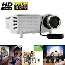 New HD Home Theater Multimedia LCD LED Projector 1080P HDMI TV Dvd Game Movie YX