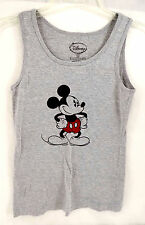 Disney CHILD Shirt Mickey Mouse GRAY Tank Top Size SMALL (3-5) CLEAN