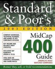 Standard & Poor's Midcap 400 Guide : 2003 Edition, Standard & Poor&s, New Book