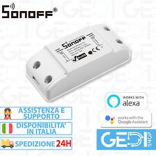 SONOFF Basic R2 NEW Domotica Wifi Switch interruttore Alexa Google Timer ITALIA