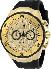 Technomarine TM-218030 Manta Men's 48mm Gold-Tone Gold Dial Watch