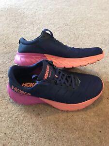 Hoka One One Womens Mach 2 Running Trainers Size UK 8 - Used Twice Indoors!