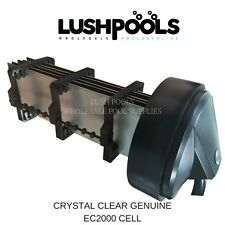 CRYSTAL CLEAR EC2000 Salt Water Chlorinator Cell - 5 YEAR  WARRANTY