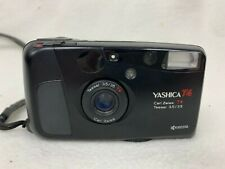 Yashica T4 Carl Zeiss T Tessar 3.5 / 35mm Vintage Film Camera In Built Flash
