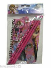 Disney FROZEN Stationary Set PINK