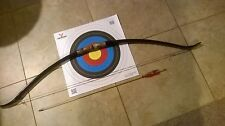 Pvc ARCHERY BOW RECURVE TAKE DOWN 30# light HUNTING/TARGET,1 arrow & Target