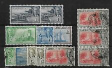 Barbados, KGVI Small selection of 1950 pictorials, mint and used (8285)
