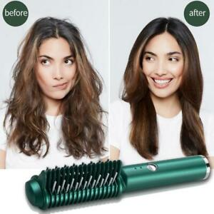 3-in-1 Electric Professional Heat Hair One Comb USB Straighteners