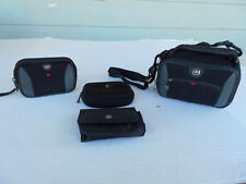 SwissGear Carrying Case's Lot of 4 Outdoor Safe Electronics Carry Bundle