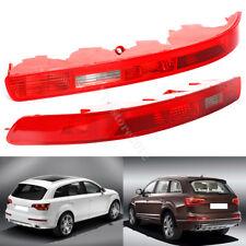 2pcs Reflector Rear Bumper Right + Left Tail Light Lamps For Audi Q7 2006-2015