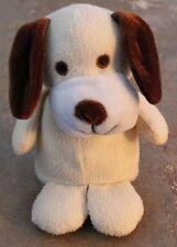 Tan Plush Dog With Floppy Brown Ears (SA1-8)