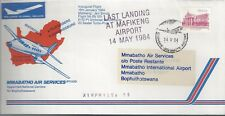 1984 Fdc Ffc Mmabatho Air Services Last Landing at Mafeking