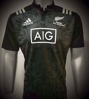 New Zealand All Blacks Maori 2017 Champion Rugby Jersey Shirt Top