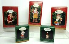 Hallmark Keepsake Christmas Ornaments 1998-1999 Collector's Club Lot of 5 Vtg