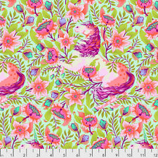 By 1/2 Yard ~ Free Spirit Tula Pink Fabric Pinkerville Imaginarium Cotton Candy