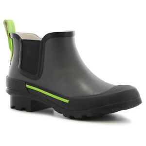 Boys' Twin Gore Solid Rain Boots - Gray