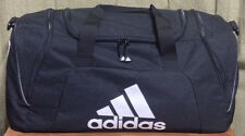 NEW Adidas Black & White Gym/Duffel /Overnight Bag 24 x 12 x 12 Medium