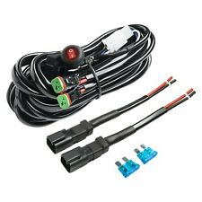 Deutsch DT Connectors Relay Harness Wire Kit 180W with LED Light ON/OFF Switch