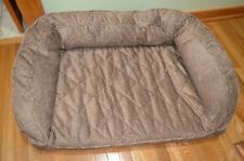 New listing Orvis Bolster Dog Bed Memory Foam Size Med 40 To 60 Lbs. List $269