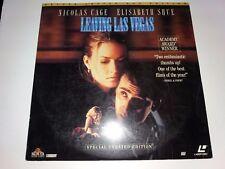 LEAVING LAS VEGAS Movie Laserdisc - CAGE & SHUE