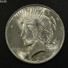 "1923 Peace Dollar ""GEM BU"" *Free S/H After 1st Item*"