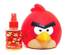 ** KIDS ** Angry Birds RED Bird 1.7 oz + Piggy Bank Eau De Toilette EDT, NEW