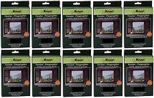 10x Fenster-Fliegengitter Fliegennetz Insektenschutz 130x150cm inkl. Klettband
