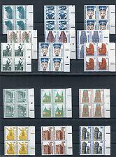 Berlin Sehenswürdigkeiten Viererblock Bogenrand rechts Mi.164,20 € postfrisch