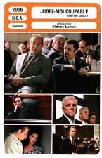 FICHE CINEMA : JUGEZ-MOI COUPABLE - Diesel,Dinklage,Lumet 2006 Find Me Guilty
