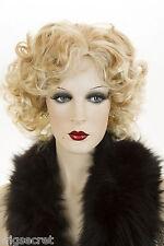 Blonde Medium Wavy Skin Top Marilyn Monroe Jean Harlow