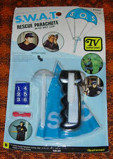 SWAT  RESCUE PARACHUTE  RACK TOY  1976 TV SERIES  MOC  CARDED