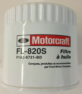 NEW OEM 1998-2020 Ford F150 FL820S Oil Filter - Silicone Anti Drainback Valve