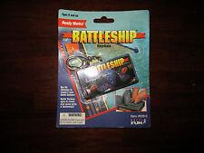 Basic Fun Mini Battleship Key Chain Game New on Card, 1999 Hasbro Game