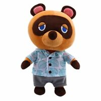 28CM Animal Crossing Tom Nook Plush Toy Raccoon Bear Doll Soft Stuffed Gift Kids