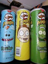 Rick and morty pringles ALL THREE!!